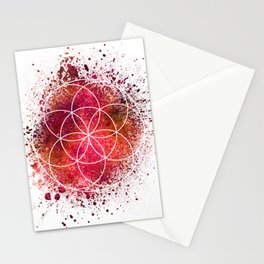 Seed of Life Sacred Geometry Stationery Cards