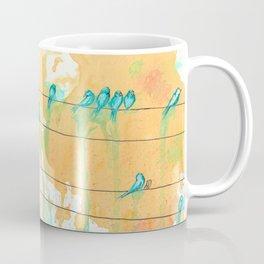Birds on the Line Coffee Mug