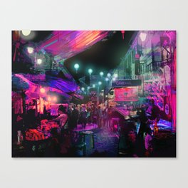 Tunes of the Night Canvas Print