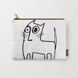 A mangy, miffed and slightly damaged cat Carry-All Pouch