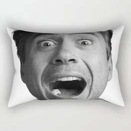 Robert downey jr Rectangular Pillow