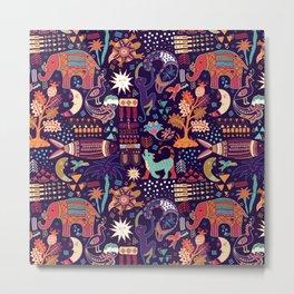 African Print 12 Metal Print