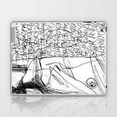 Line and Words - 2 Laptop & iPad Skin