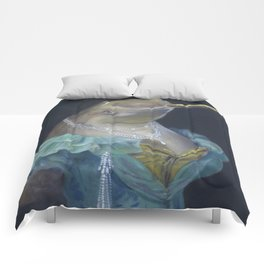 MADAME NARWHAL, by Frank-Joseph Comforters