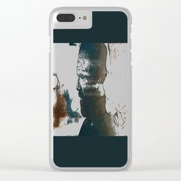 Loss (Eradication of Individual Rights) Clear iPhone Case