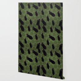 Cat photo pattern Wallpaper