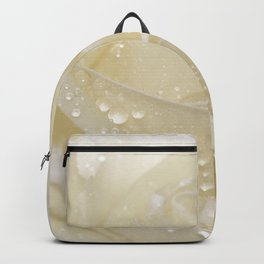 Rose white 01 Backpack