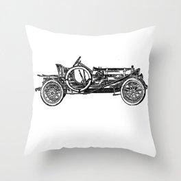 Old car 3 Throw Pillow