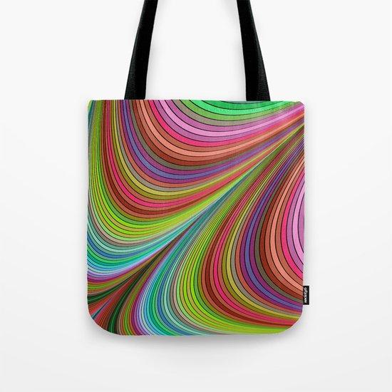 Happy curves Tote Bag