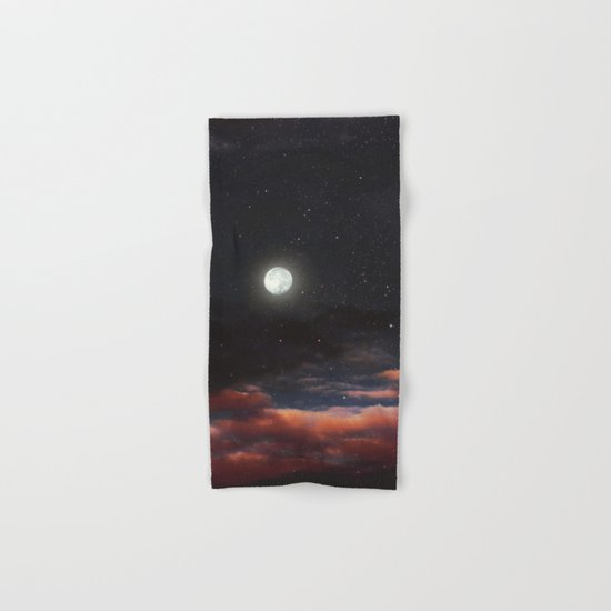 Dawn's moon Hand & Bath Towel