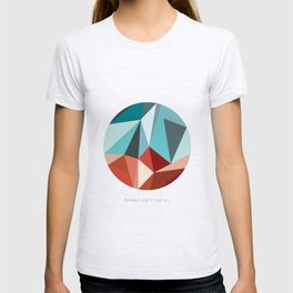 BETWEEN EARTH AND SKY T-shirt
