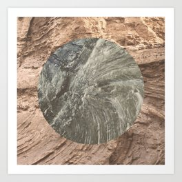 Forever Fossilized Art Print