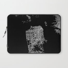 san francisco map Laptop Sleeve