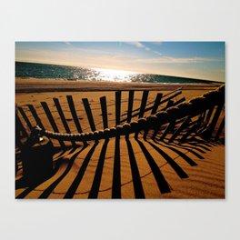 Ocean Shadow Canvas Print
