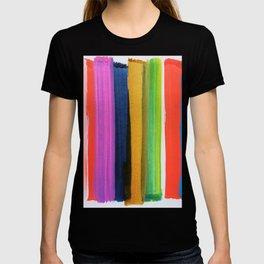 Colorful Sentiment 1008 Rainbow T-shirt