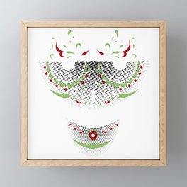 Mr. Sugar Skull Framed Mini Art Print
