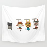 video game Wall Tapestries featuring Video game by Miguel Ordonez
