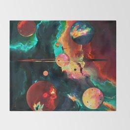 Ívi (Abstract 48) Throw Blanket