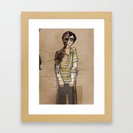 Gus Jr. Framed Art Print
