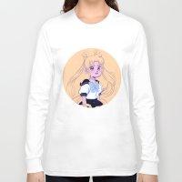sailor moon Long Sleeve T-shirts featuring Sailor Moon by Natali Koromoto
