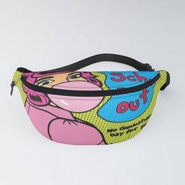 Bubblegum Dropout Fanny Pack
