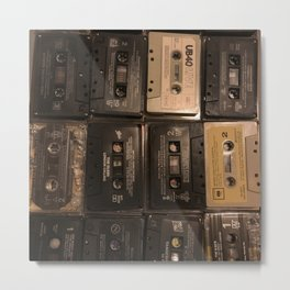 The Mixed Tape Project Metal Print