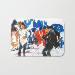 Pulp Fiction dance Bath Mat