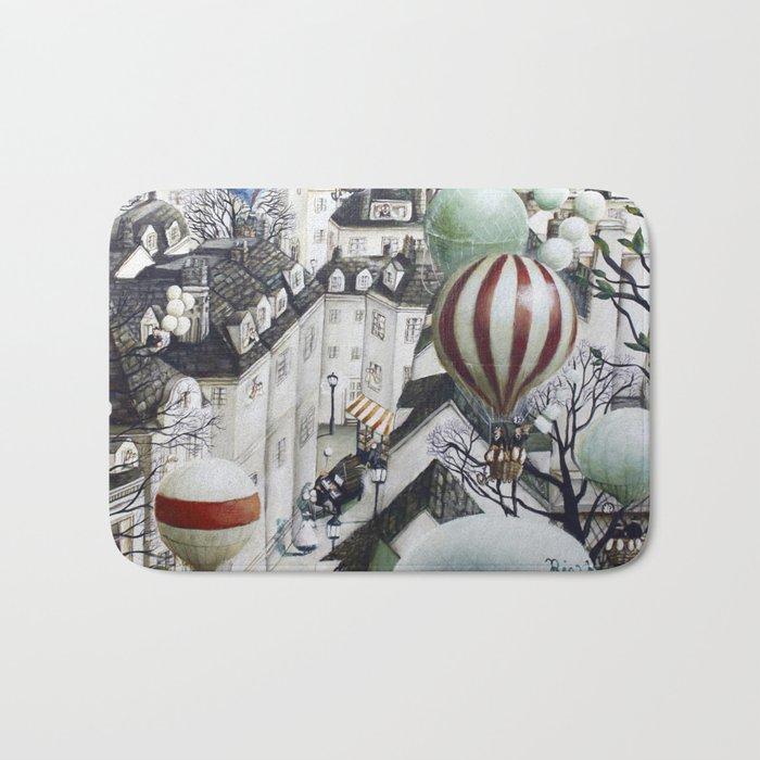 Balloon travel Bath Mat