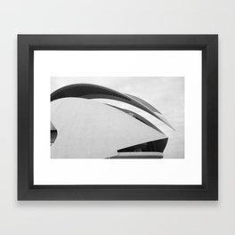 C A L A T R A V A | architect | City of Arts and Sciences Framed Art Print