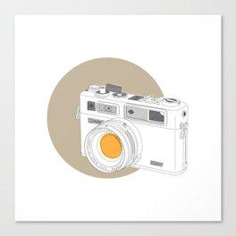 Yashica Electro 35 GSN Camera Canvas Print