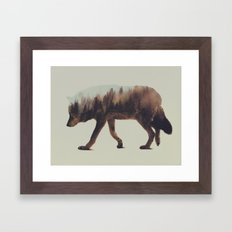 Norwegian Woods: The Wolf Framed Art Print