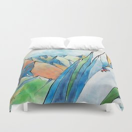 Push Yourself Duvet Cover