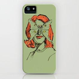 Miss Lunar Moth iPhone Case