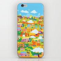 the neighbourhood iPhone & iPod Skins featuring Neighbourhood by James Thornton