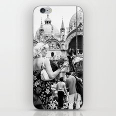 Birds of a Feather - St. Marks Square Italy iPhone & iPod Skin
