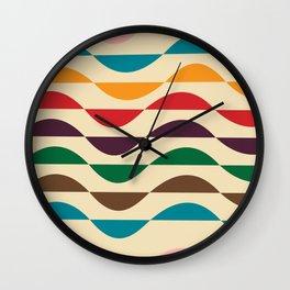 Summer waves Wall Clock
