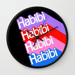 Barbie Habibi Wall Clock
