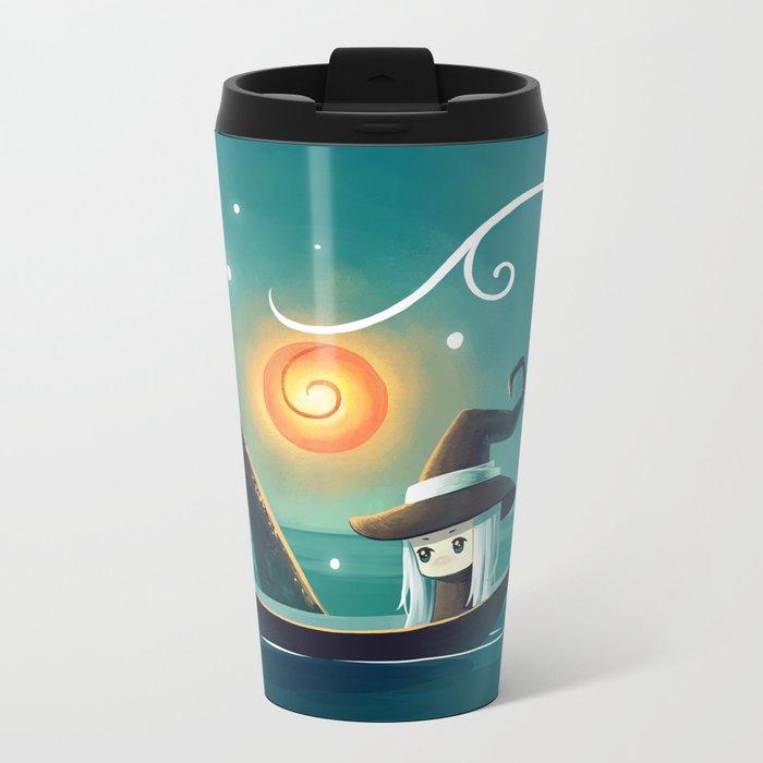 Little Witch 3 Metal Travel Mug