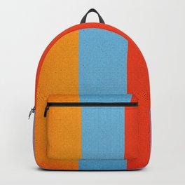 VINTAGE RETRO PATTERN VERTICAL BARS Backpack