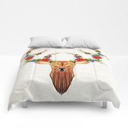 deer spring Comforters