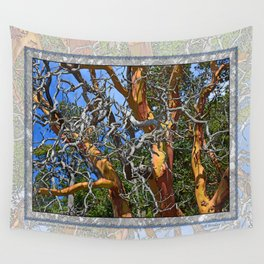 MADRONA TREE DEAD OR ALIVE Wall Tapestry