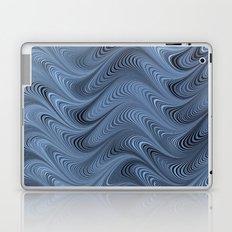 Blue Swirl Laptop & iPad Skin