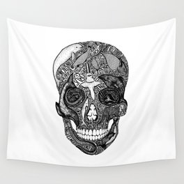 'Death of the Oceans' by Sarah King Wall Tapestry