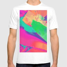 surreal MEDIUM White Mens Fitted Tee