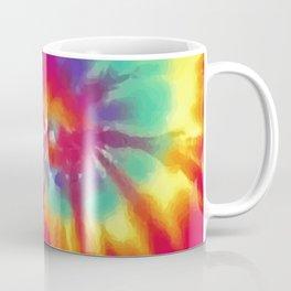 Tie Dye Swirl Pattern Coffee Mug