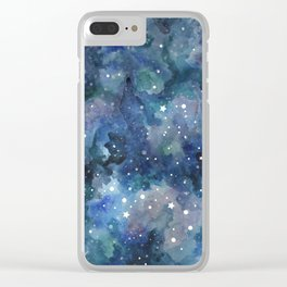Star Galaxy Clear iPhone Case