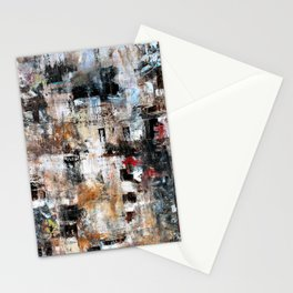 MODERN CONTEMPORARY ABSTRACT ART Stationery Cards