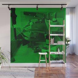 Rube Goldberg Machine Wall Mural