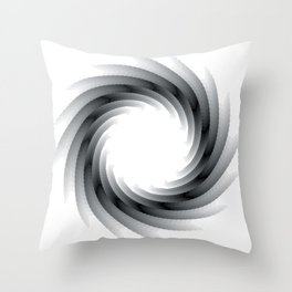 Paper Cut Swirl - 01 Throw Pillow
