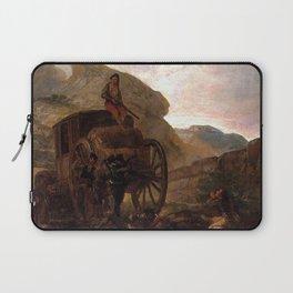 Francisco de Goya - Assault of Thieves Laptop Sleeve